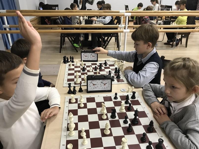 Рапид-турнир по шахматам клуба Chesskids ноябрьский этап (23.11.2017) г. Мытищи