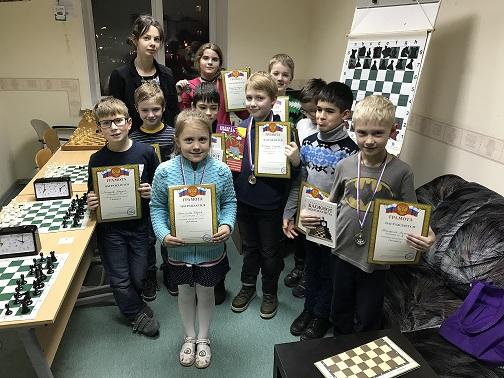Турнир по «Классике» шахматного клуба Chesskids