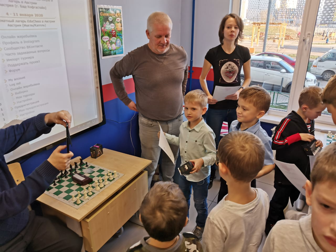 Кубок Chesskids&LinguaWorld