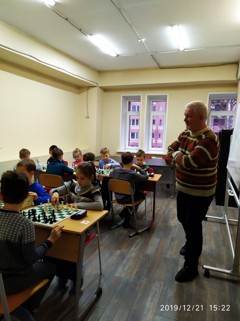 Новогодний турнир Chesskids 21.12.2019