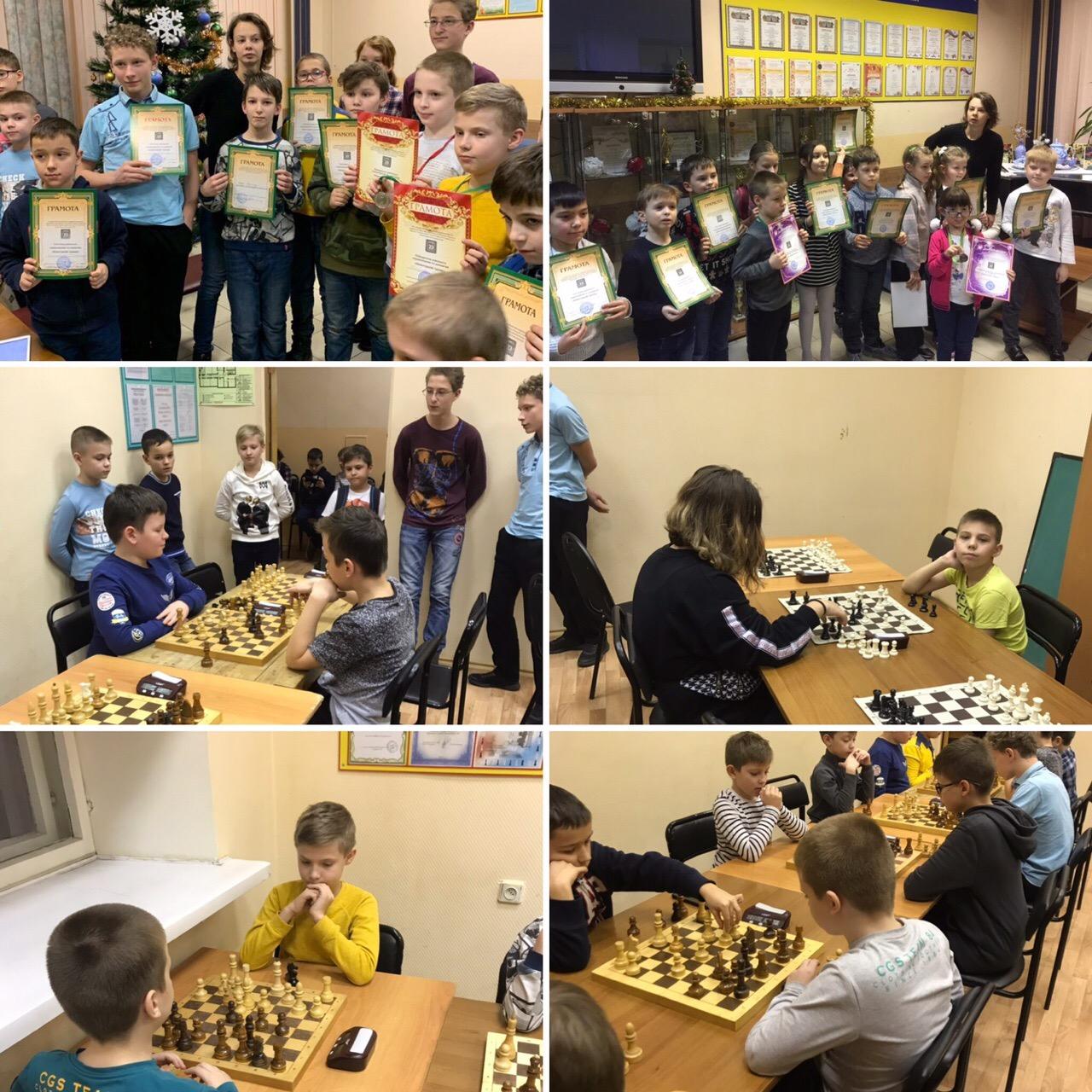 Новогодние турниры на Войковской