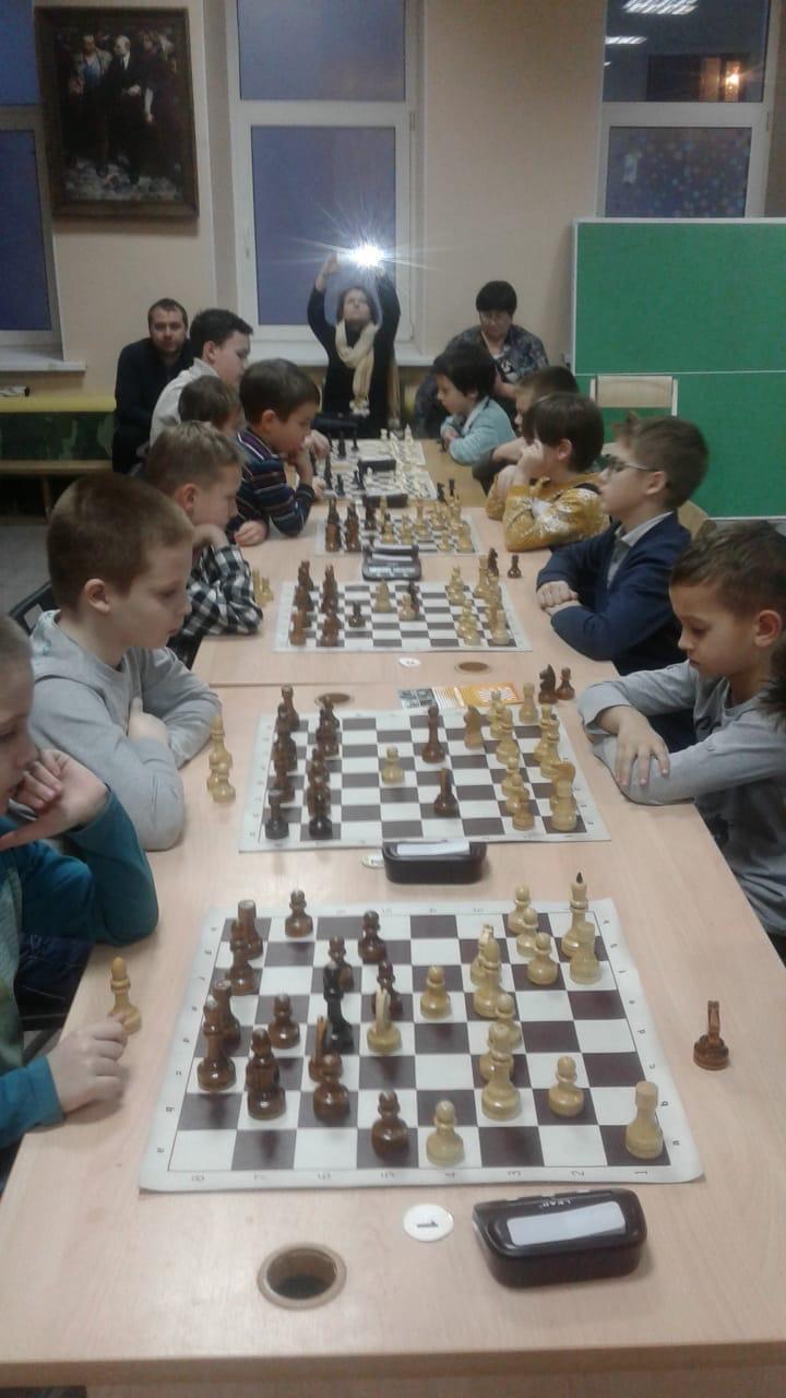Январь - Open Chesskids на Чистых прудах 31.01.2020