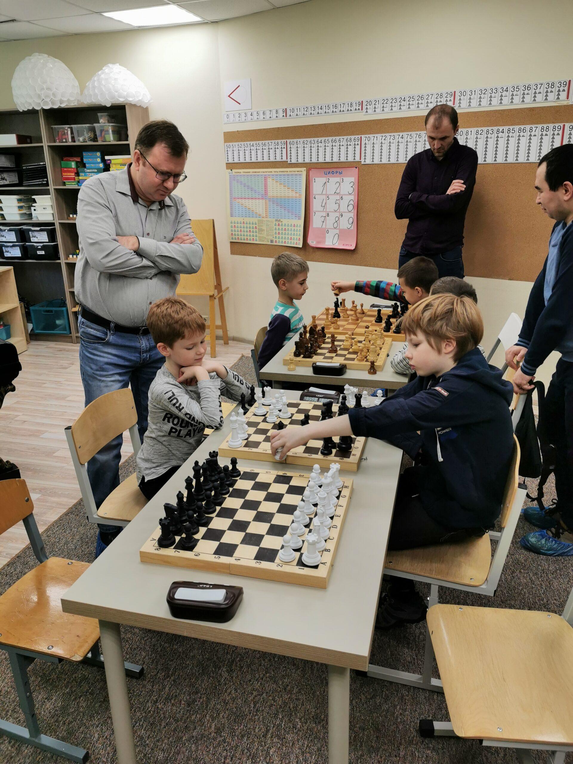 Семейный турнир в Химках