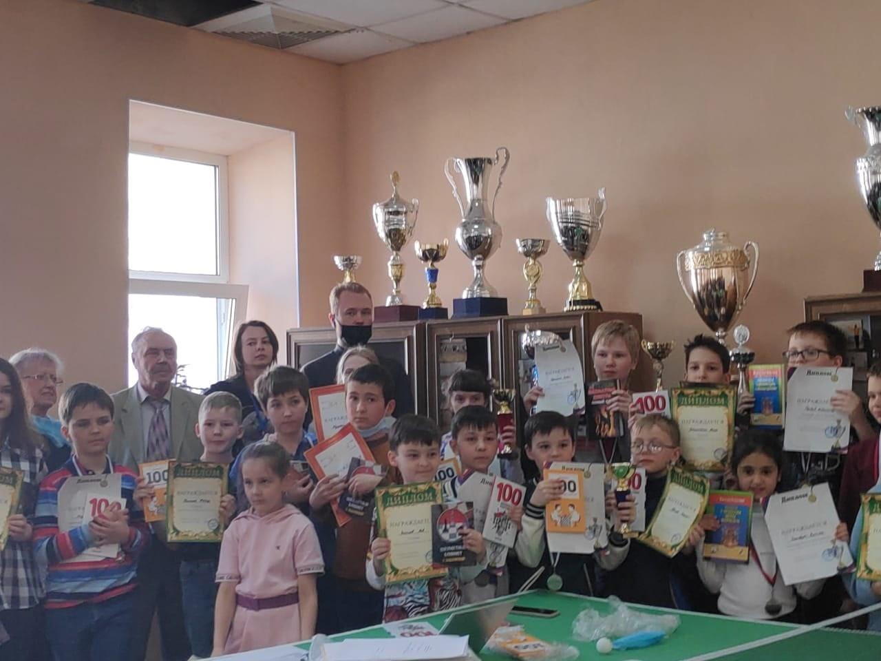 "Турнир по быстрым шахматам ""Апрель - Open"" 11.04.2021"
