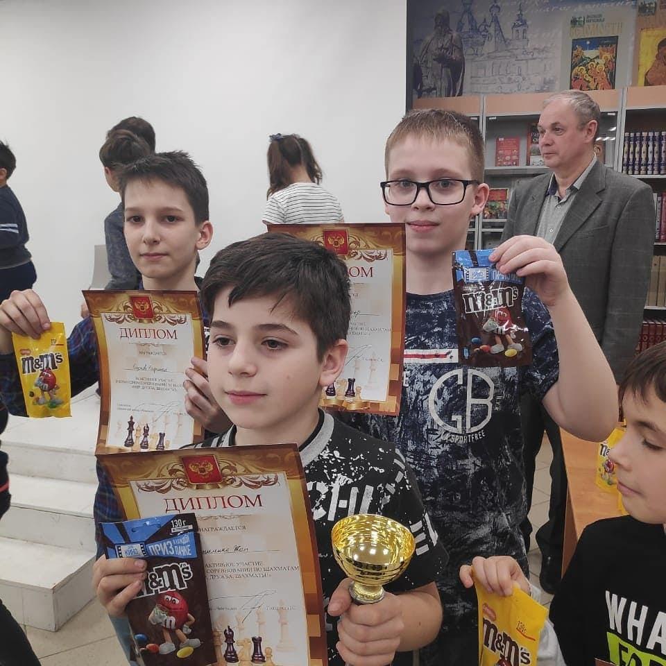 "Командный чемпионат по шахматам среди детей ""Мир, дружба, шахматы!"""