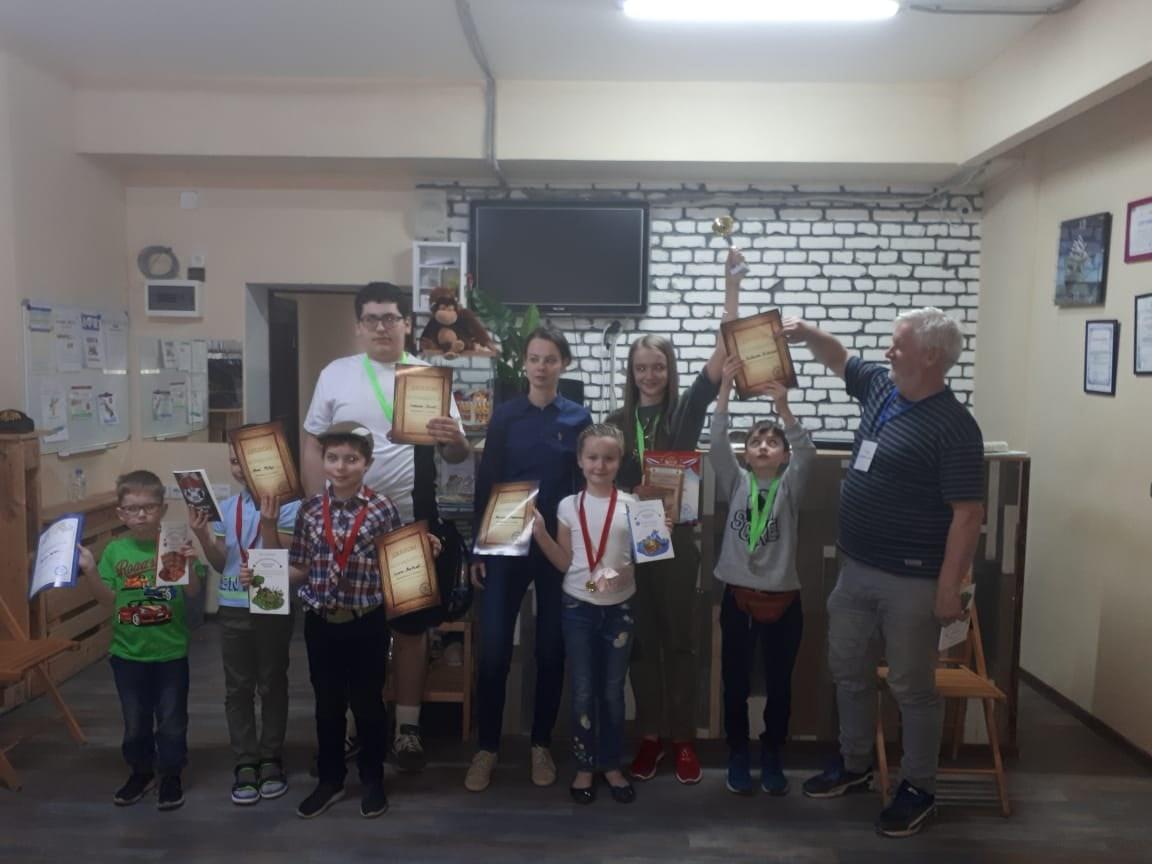 Кубок летних игр Chesskids 05.06.2021